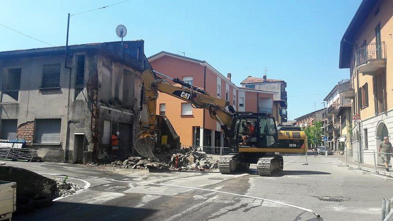 Lavori in corso in centro a Uggiate Trevano: siamo aperti!
