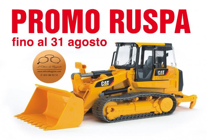 """""""Promo ruspa"""": demoliamo i prezzi!"""