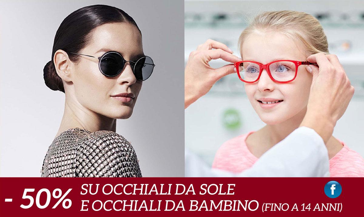 Promozione da urlo: -50% su occhiali da sole e vista per bambini!