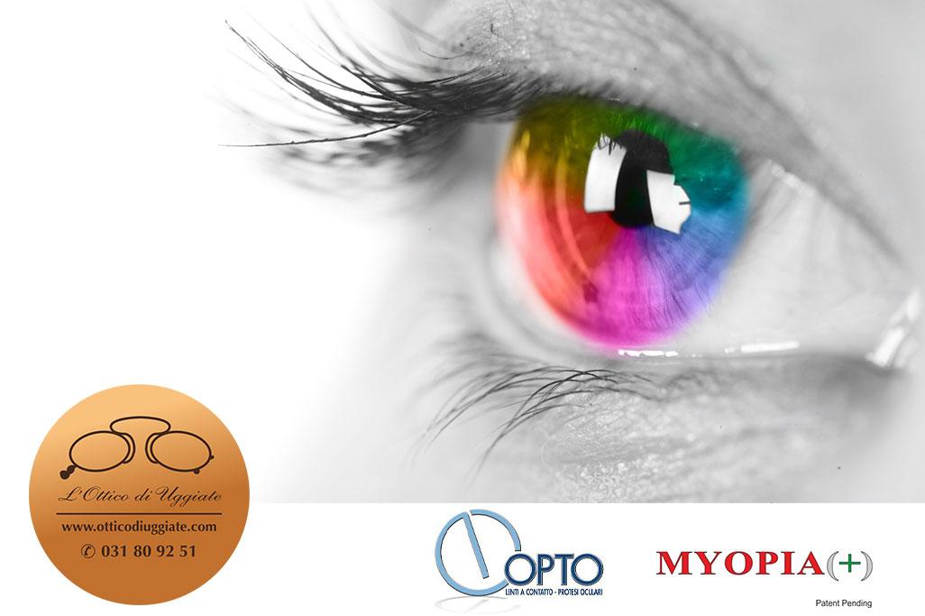 Una lente che combatte la miopia? Noi ci siamo!