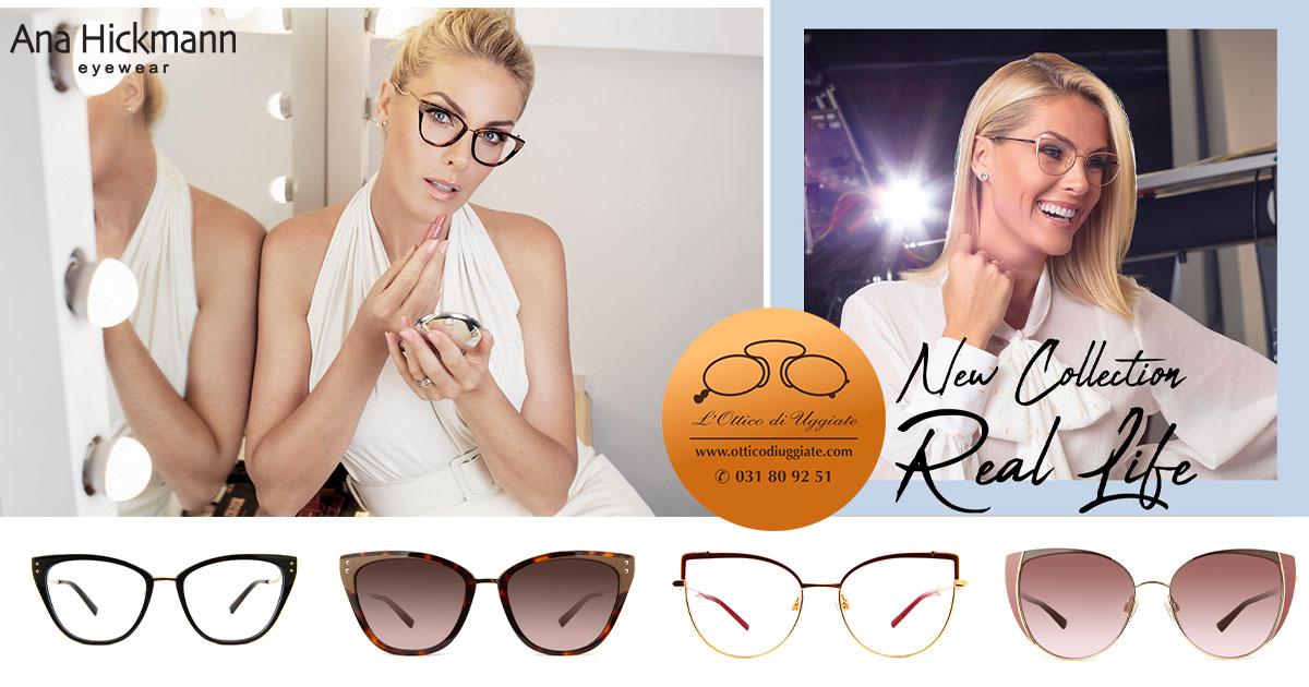 Nuova collezione di Ana Hickmann Eyewear: Real Life